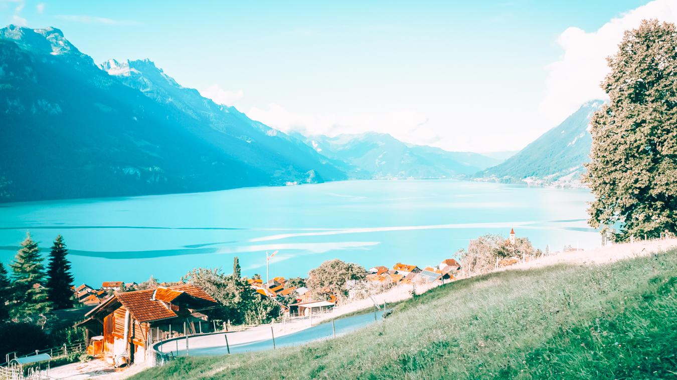 Lake Brienz in Switzerland