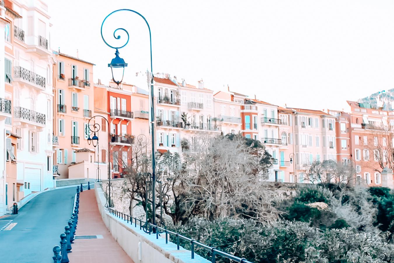 A street in Monaco