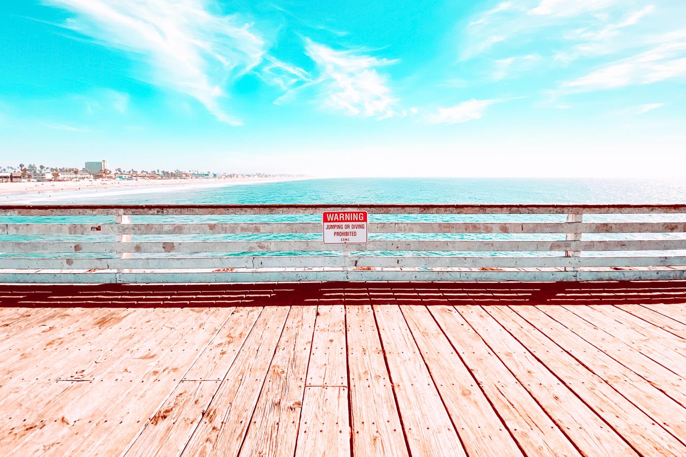 Pacific Beach Pier in San Diego