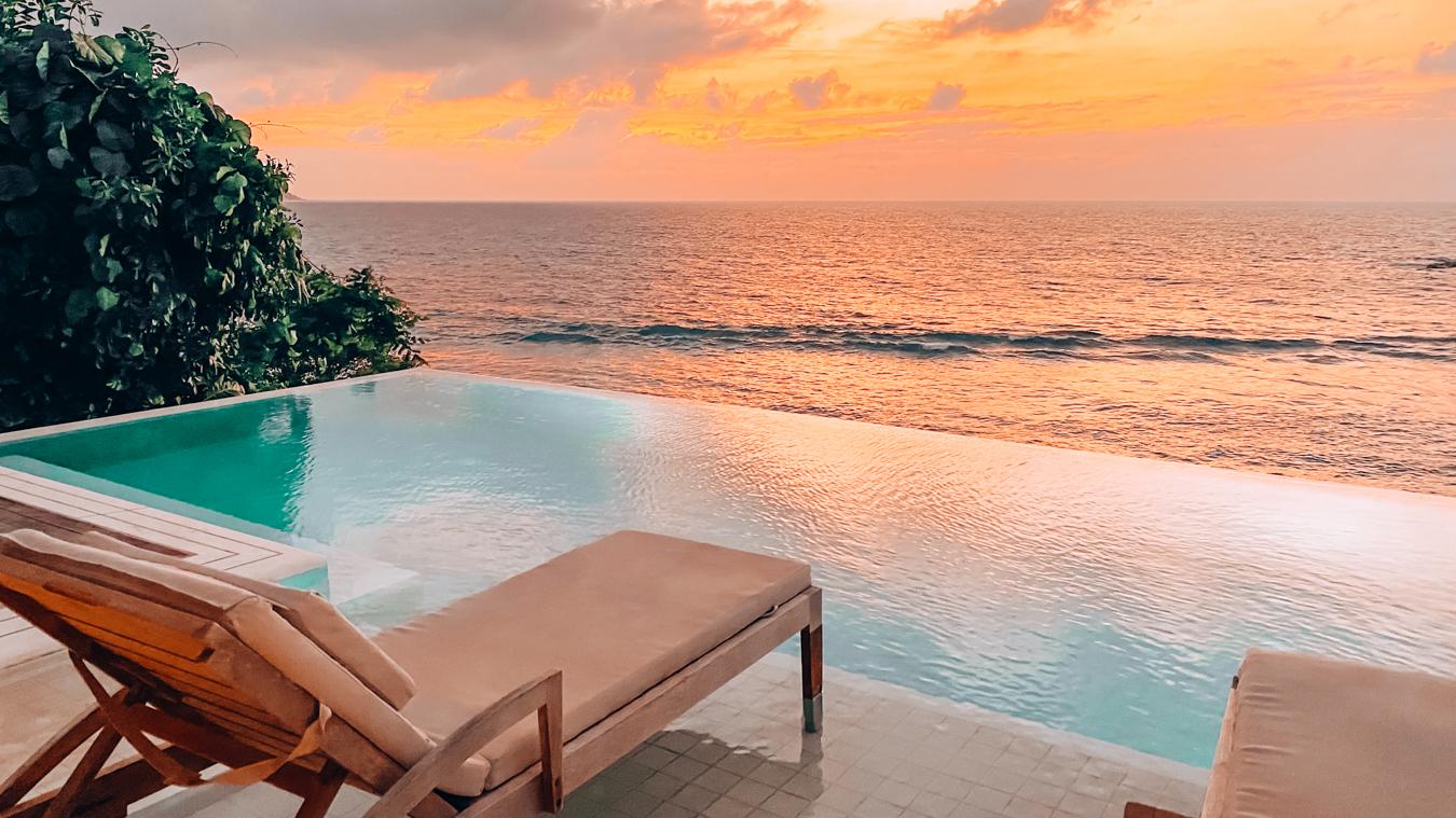 Pool in Seychelles