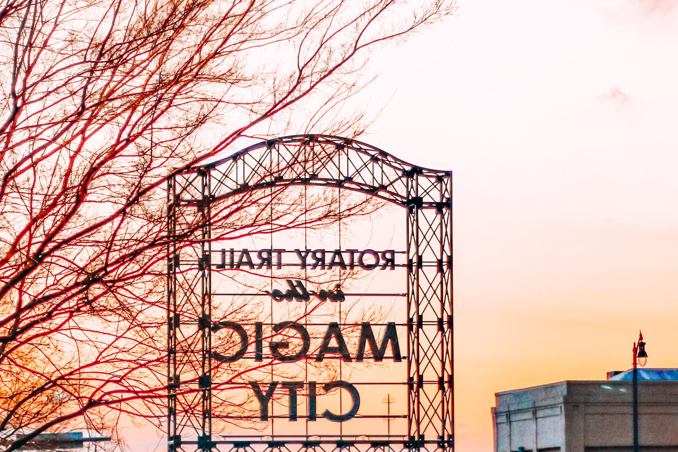 Magic city in Birmingham