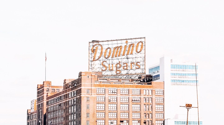 Sign of Domino Sugars
