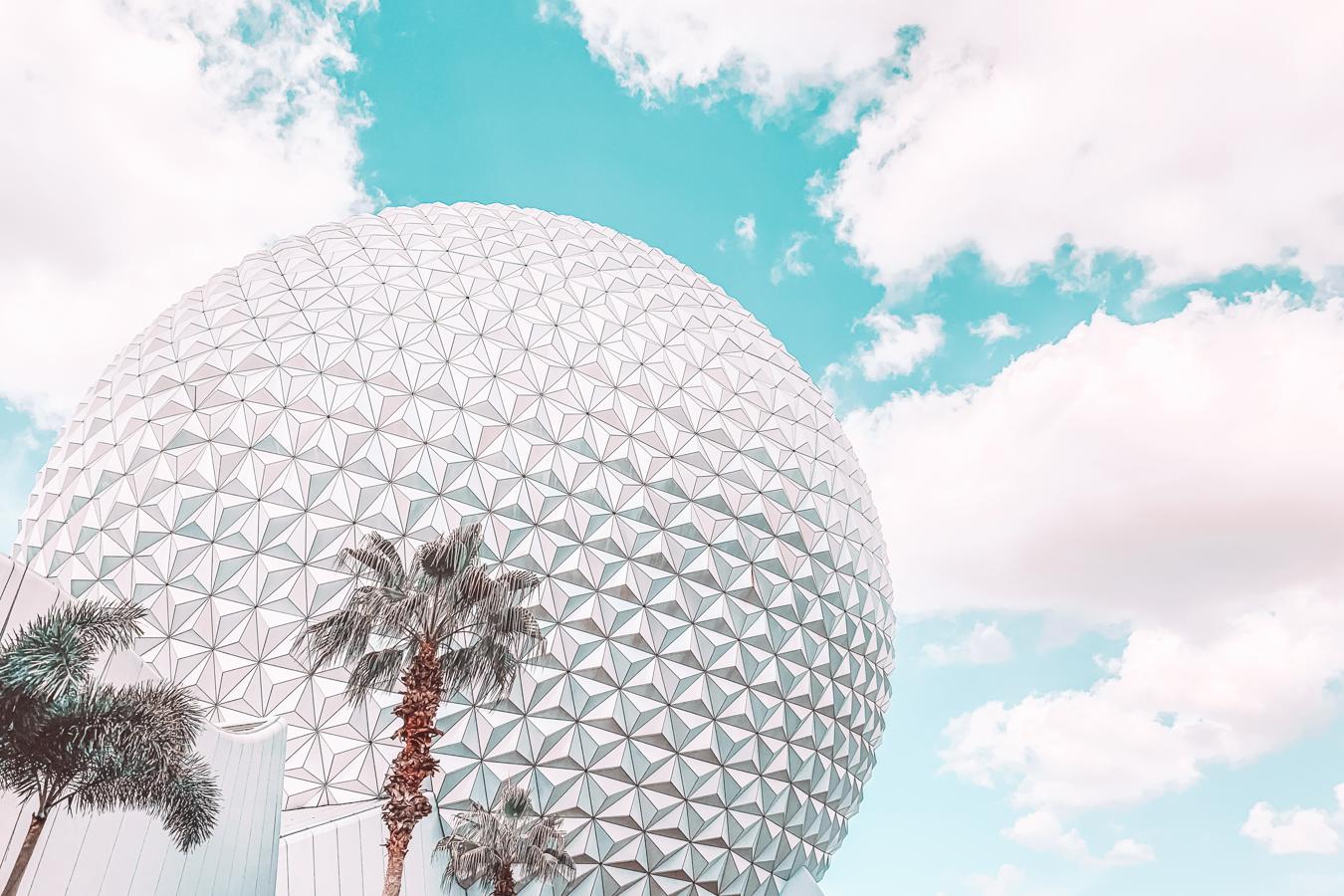 Epcot Ball in Orlando