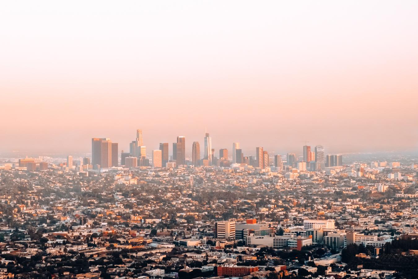 Instagrammable view of LA