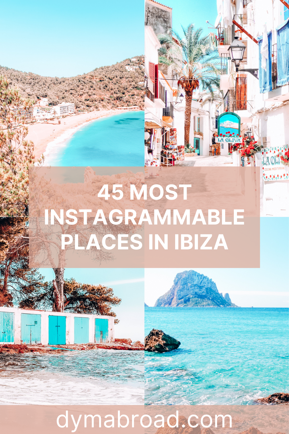 Instagrammable places in Ibiza Pinterest image