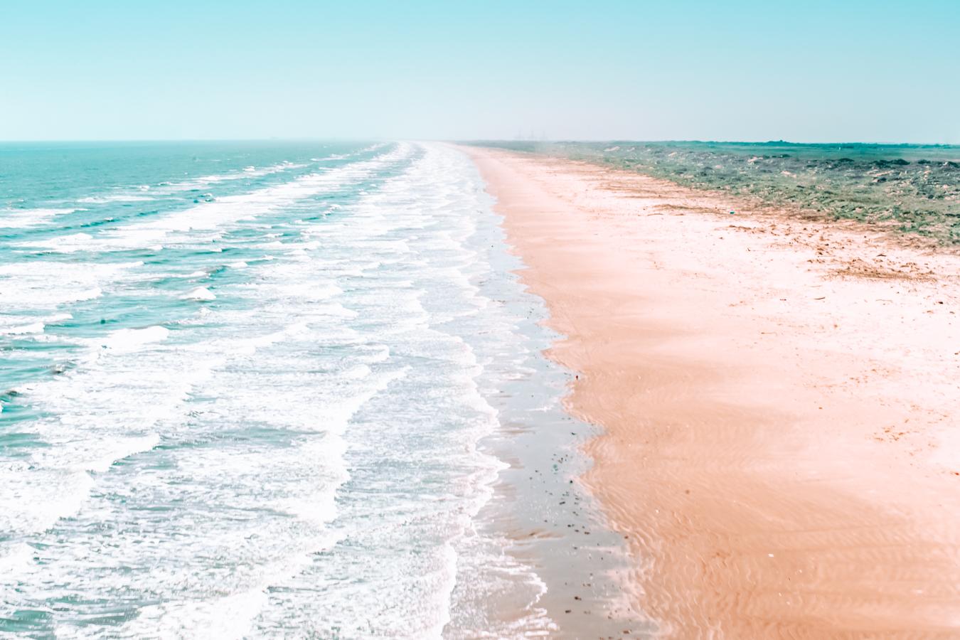 Beach at Port Aransas