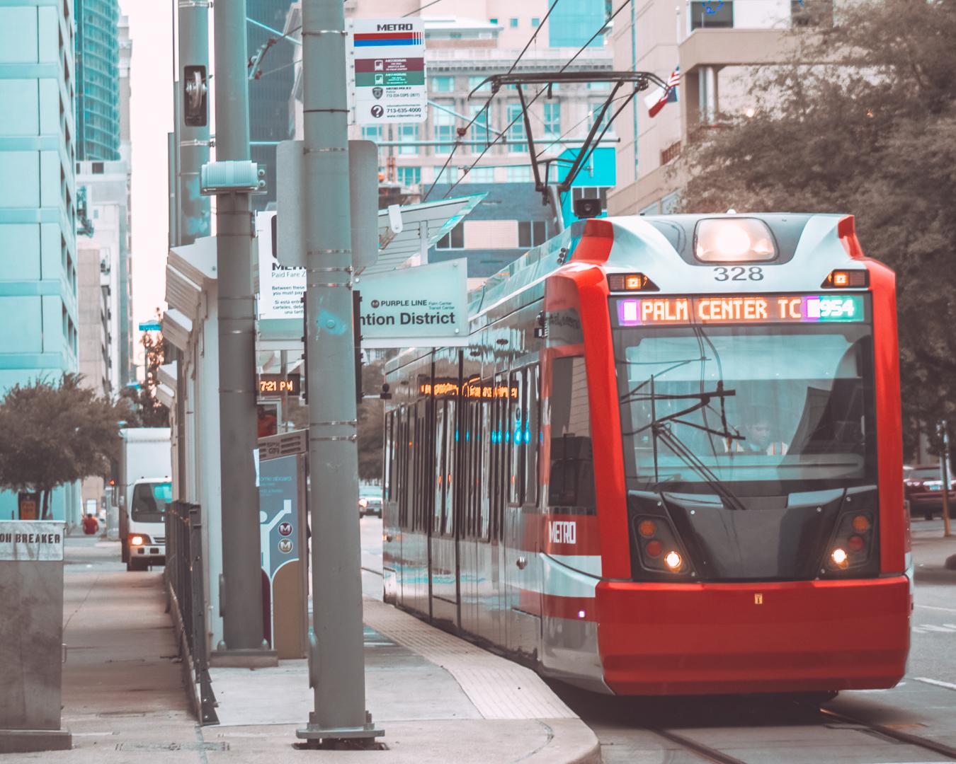 Public transport in Houston