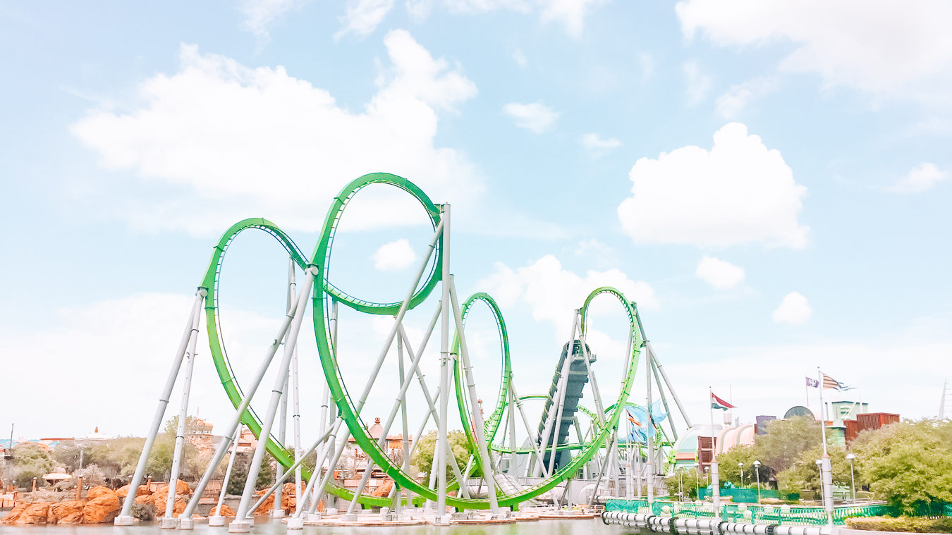 Rollercoaster in Orlando