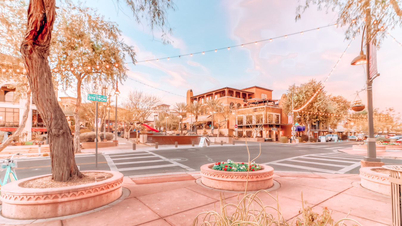 The old town of Scottsdale