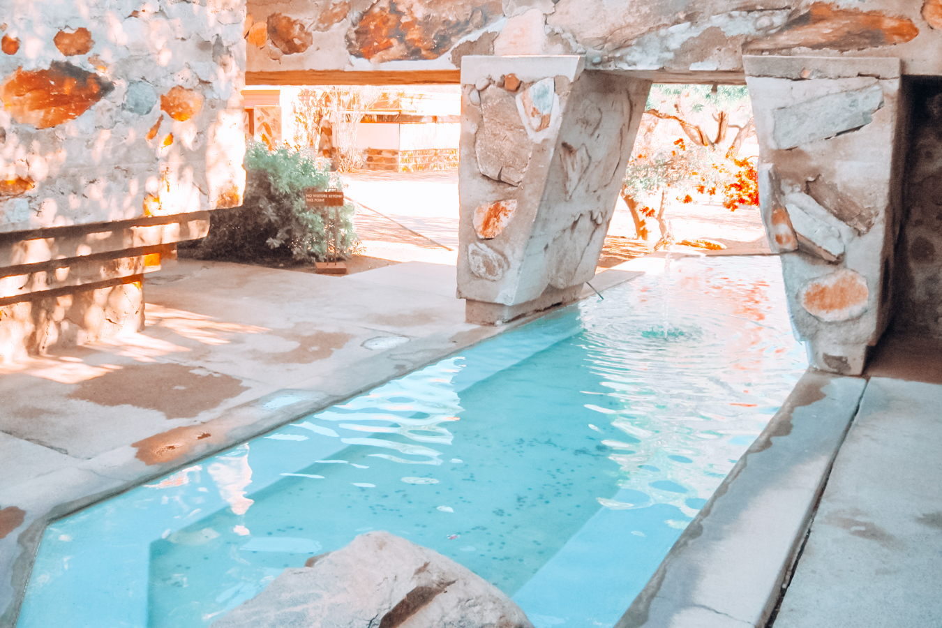 Pool at Taliesin West