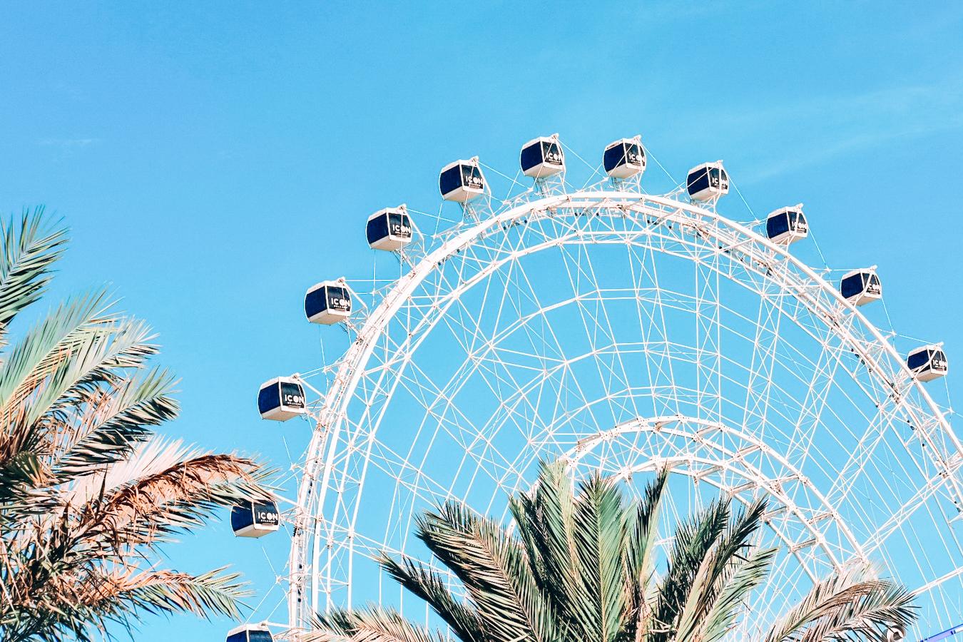 Ferris Wheel Wheel at ICON Park in Orlando