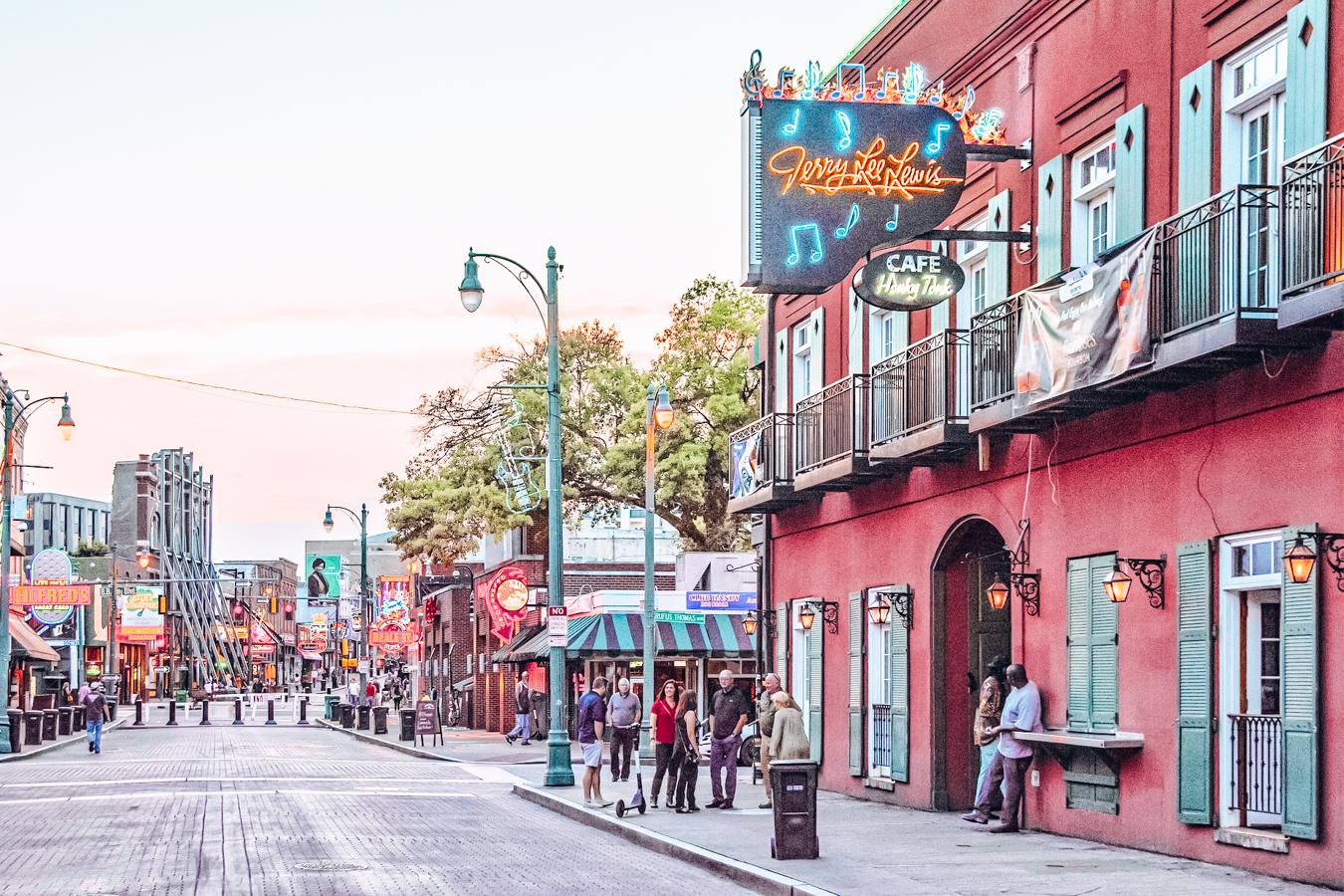 Street in Memphis