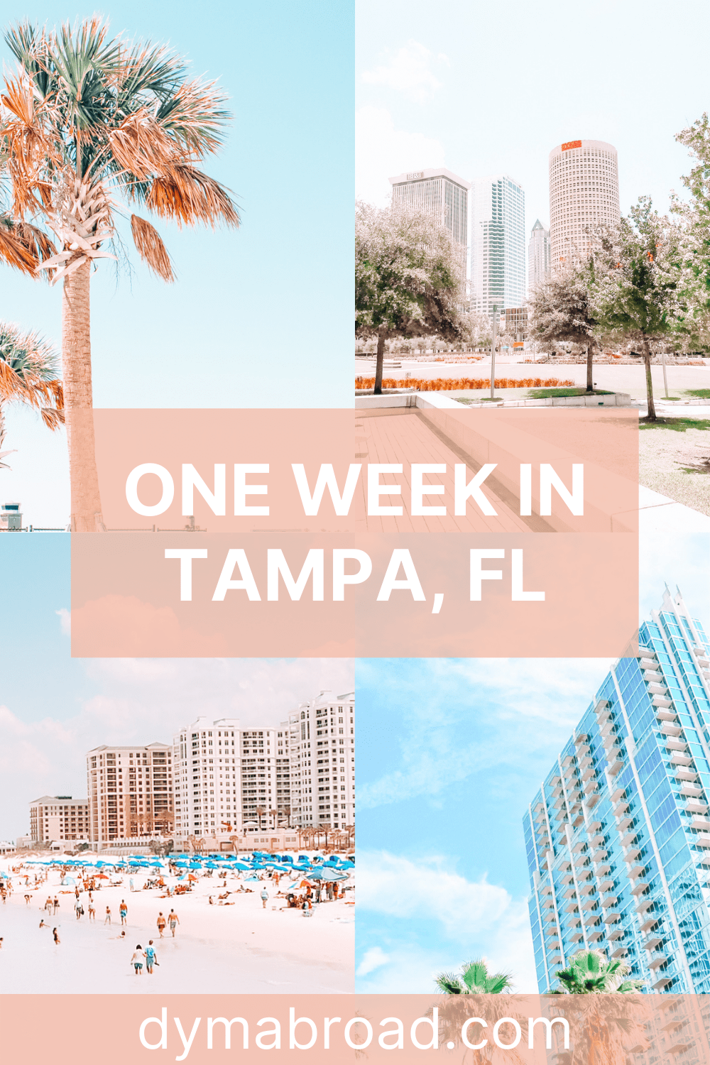 One week in Tampa second Pinterest image