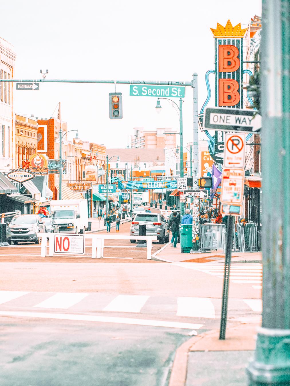 Road in Memphis
