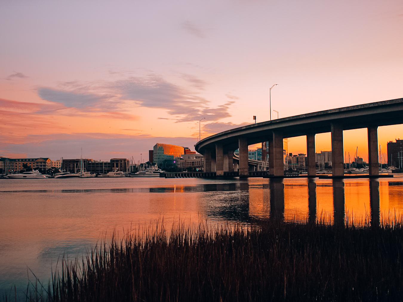 Sunset in Charleston