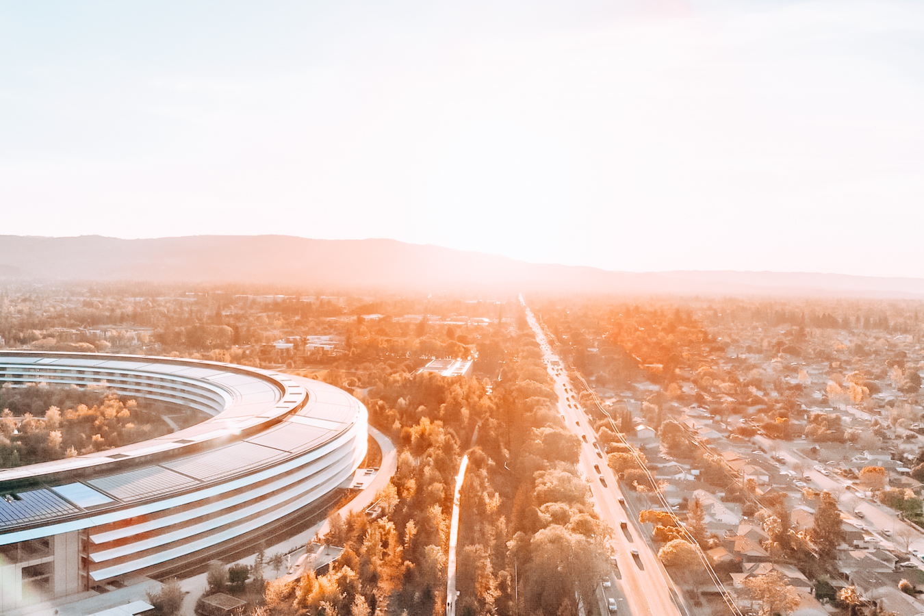 Apple Park from above