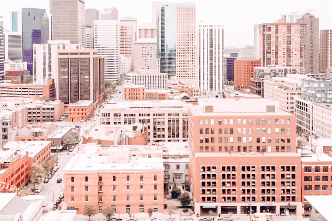 The center of Denver