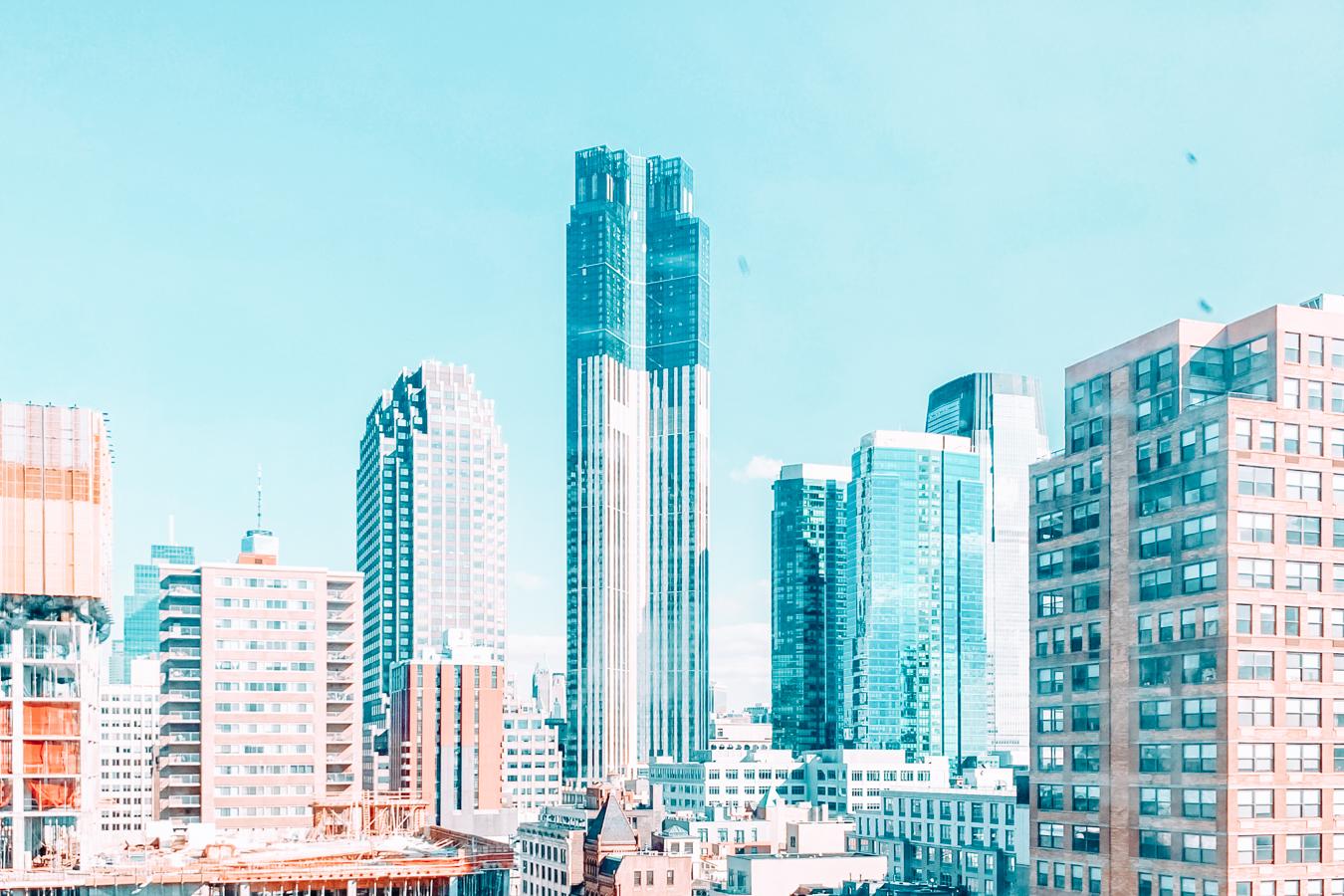 Buildings in Jersey City