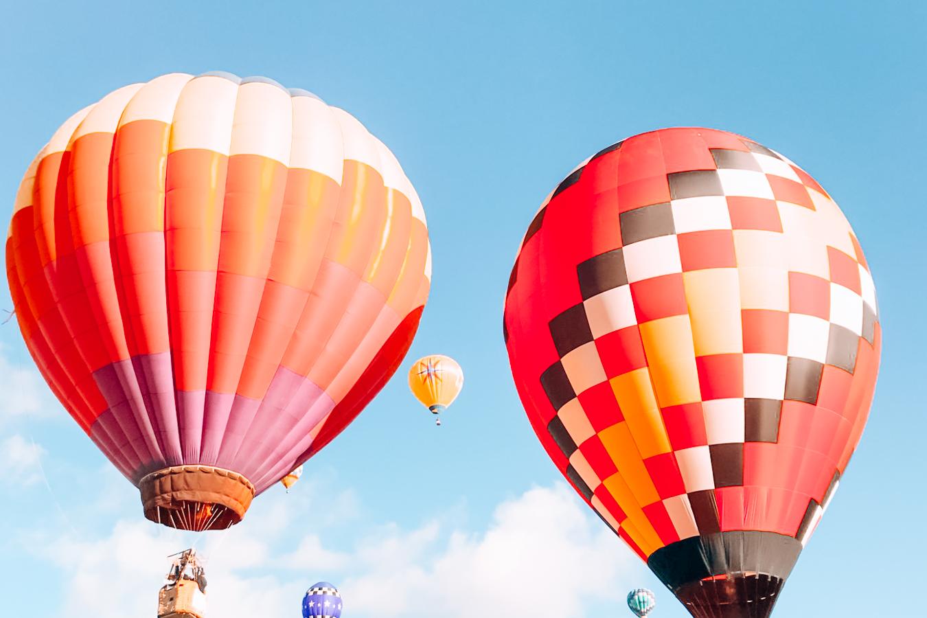 Hot air balloons in Albuquerque