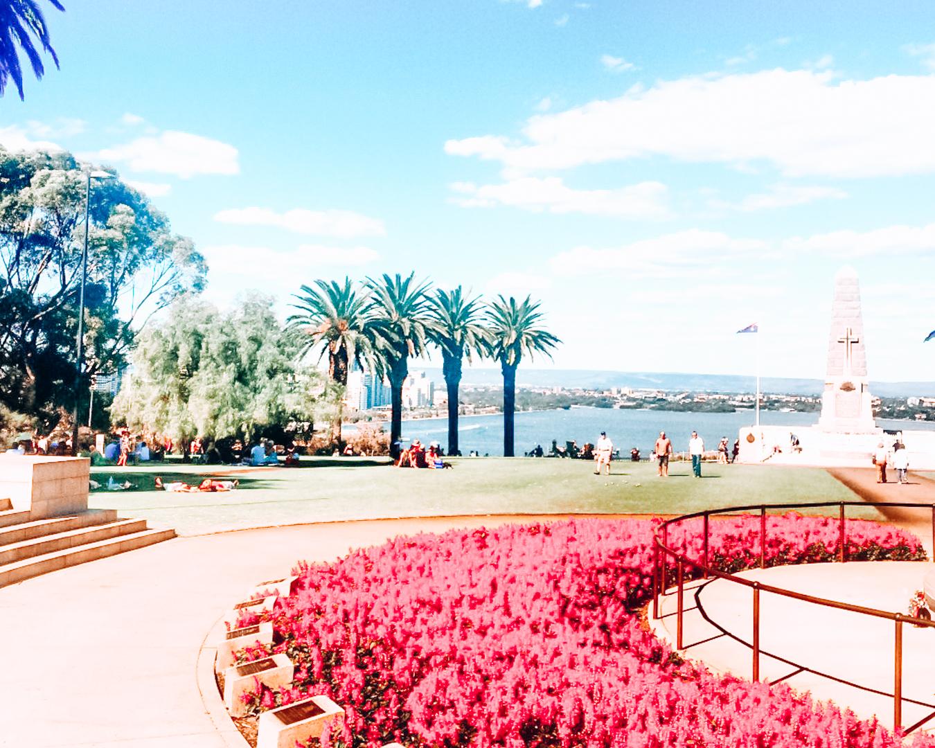 Kings Park in Perth