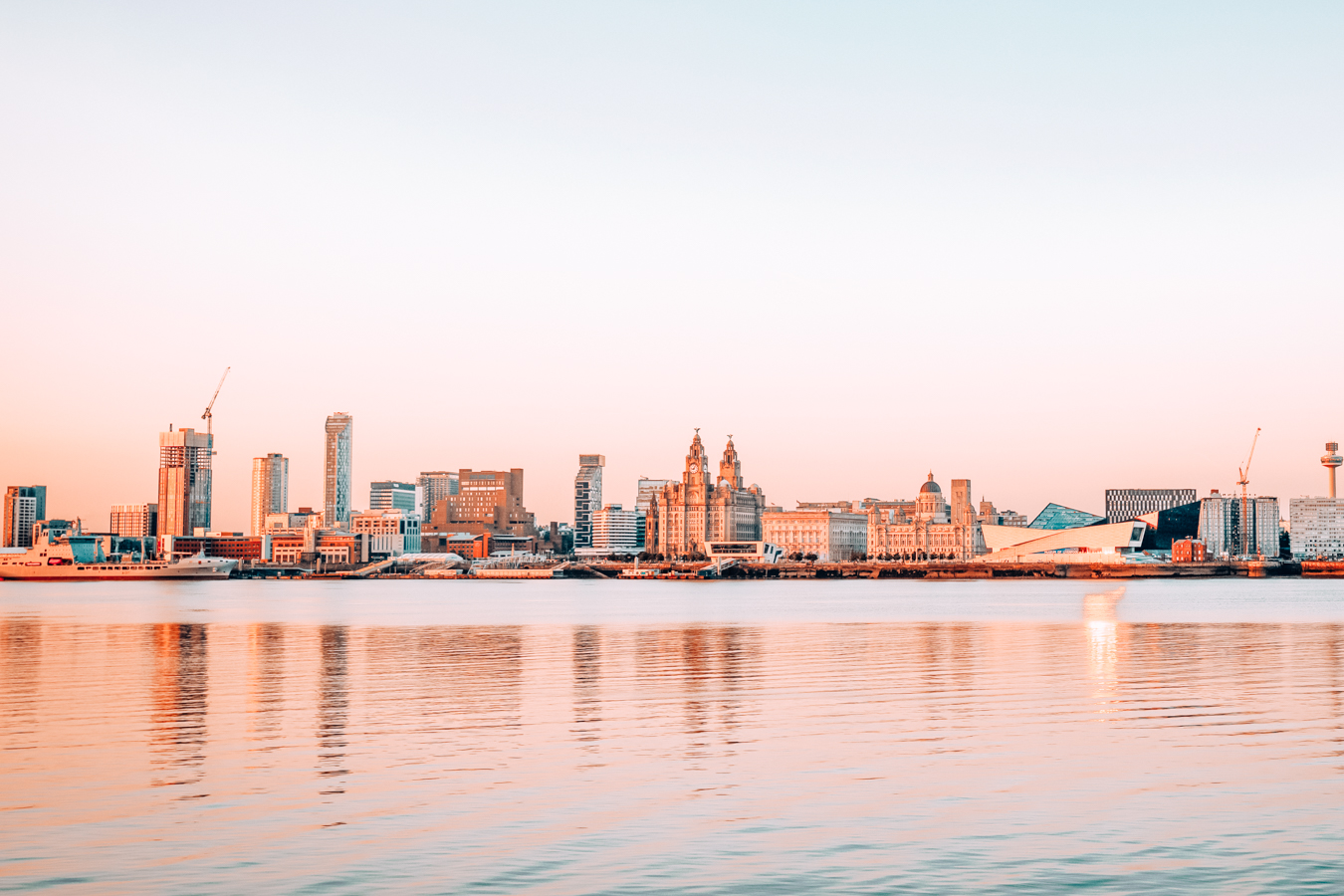 A view of Liverpool