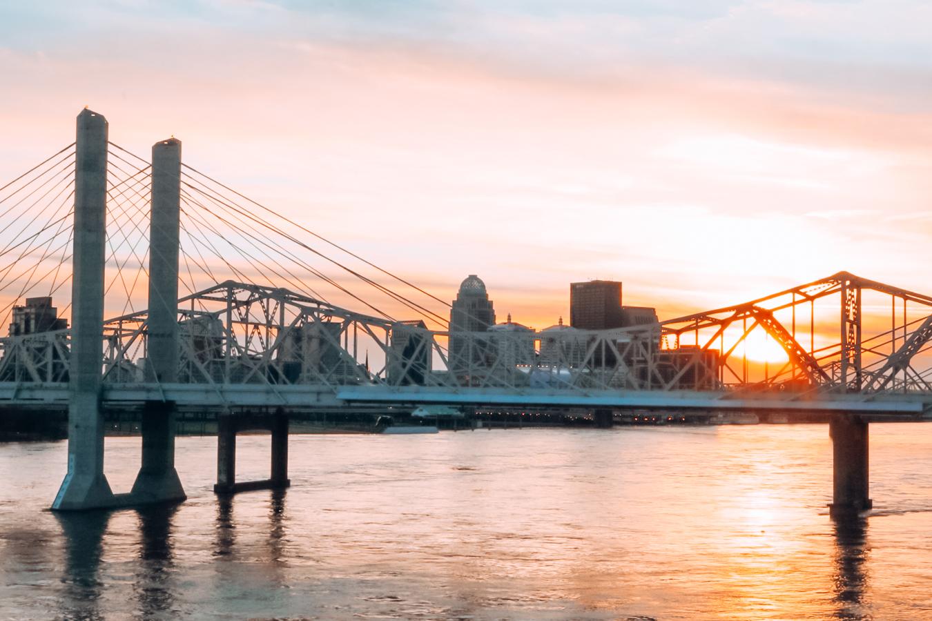Sunset in Louisville