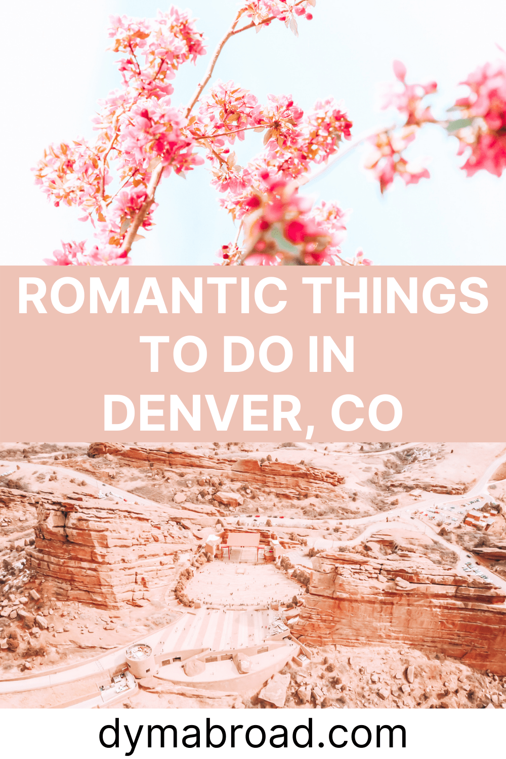 Romantic things to do in Denver second Pinterest image