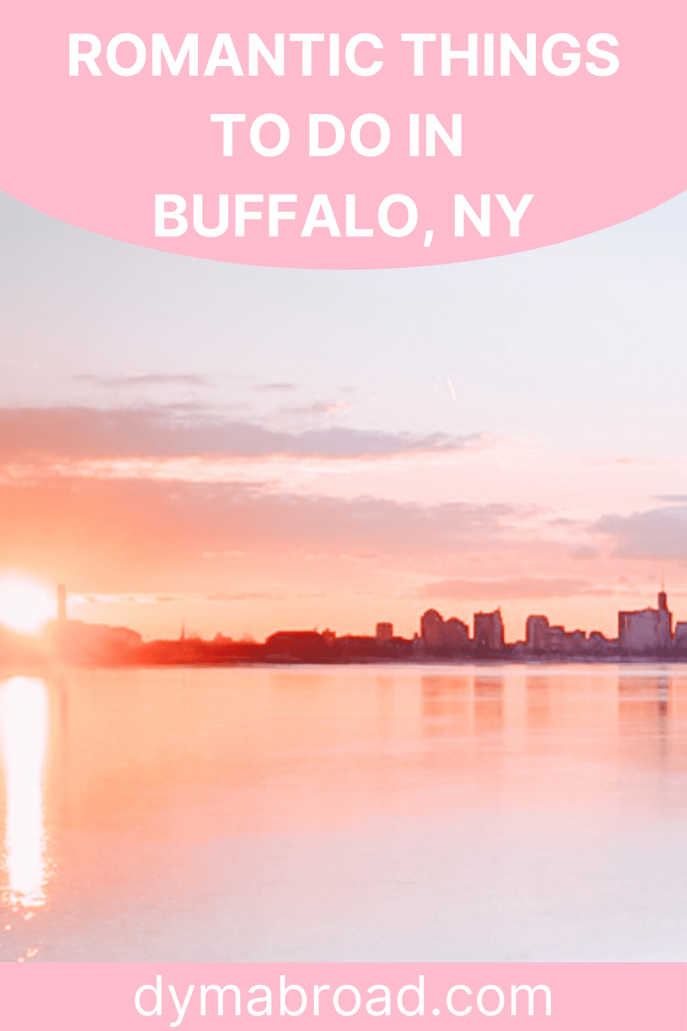 Romantic things to do in Buffalo second Pinterest image