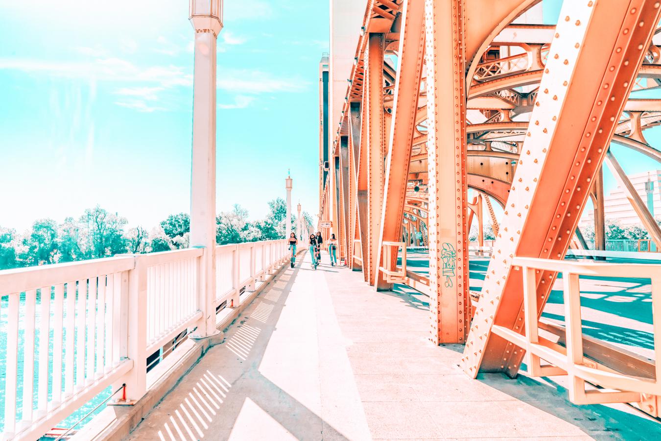 Bridge in Sacramento