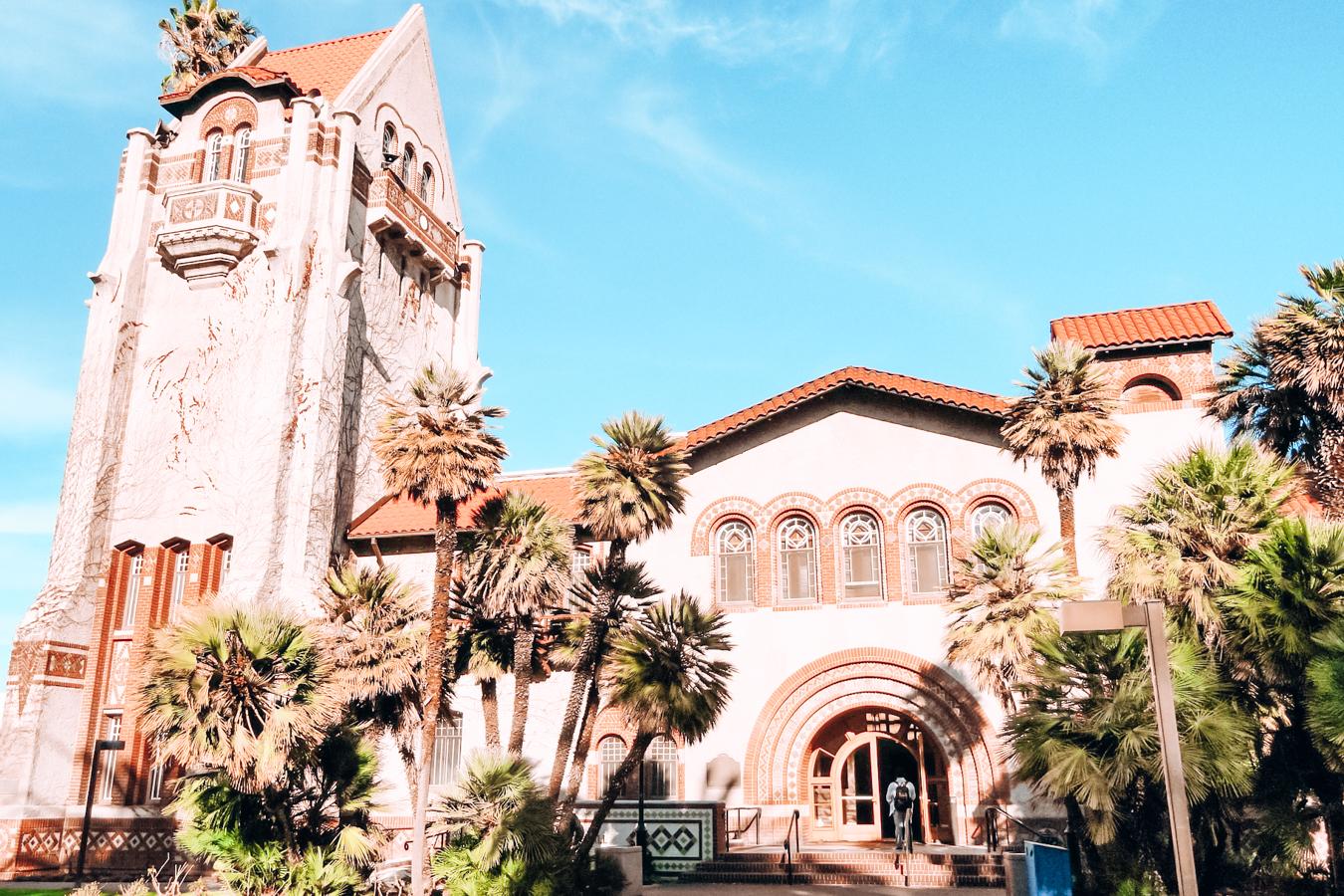 Historic building in San Jose