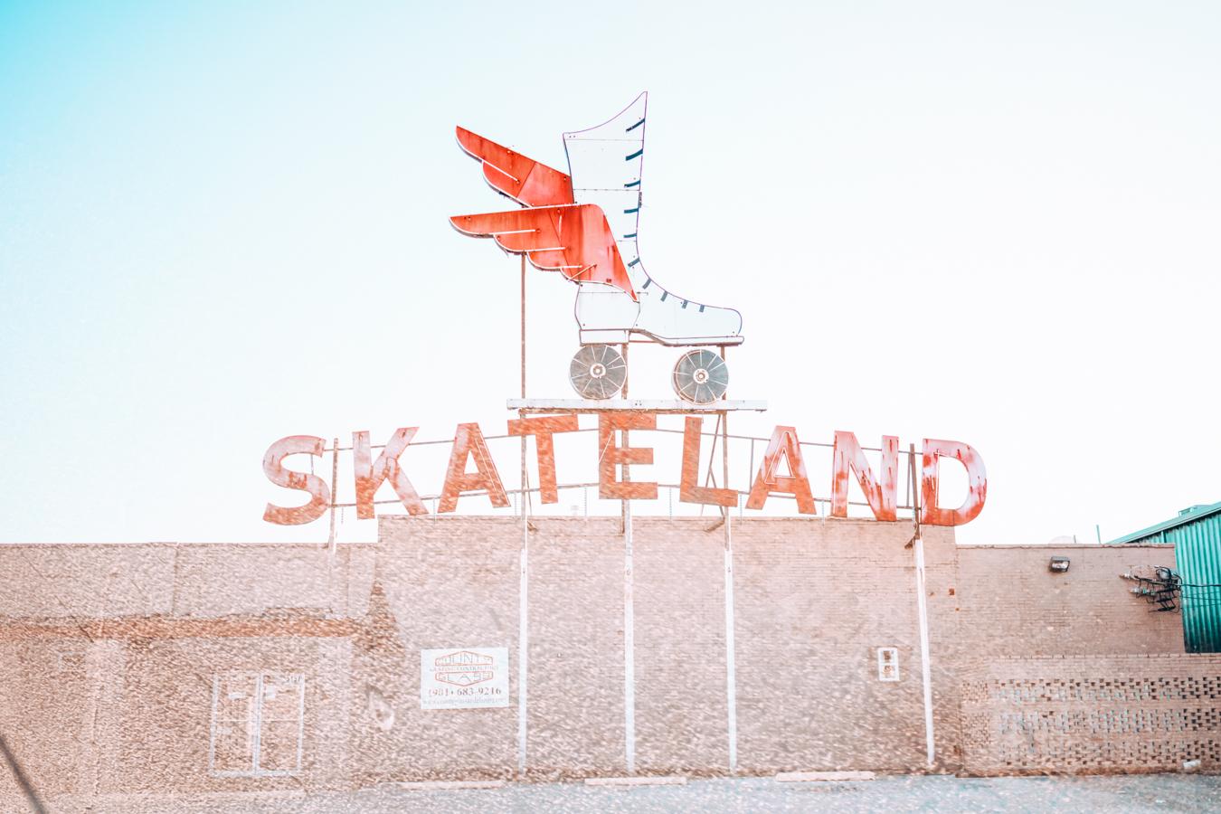 Sign of Skateland