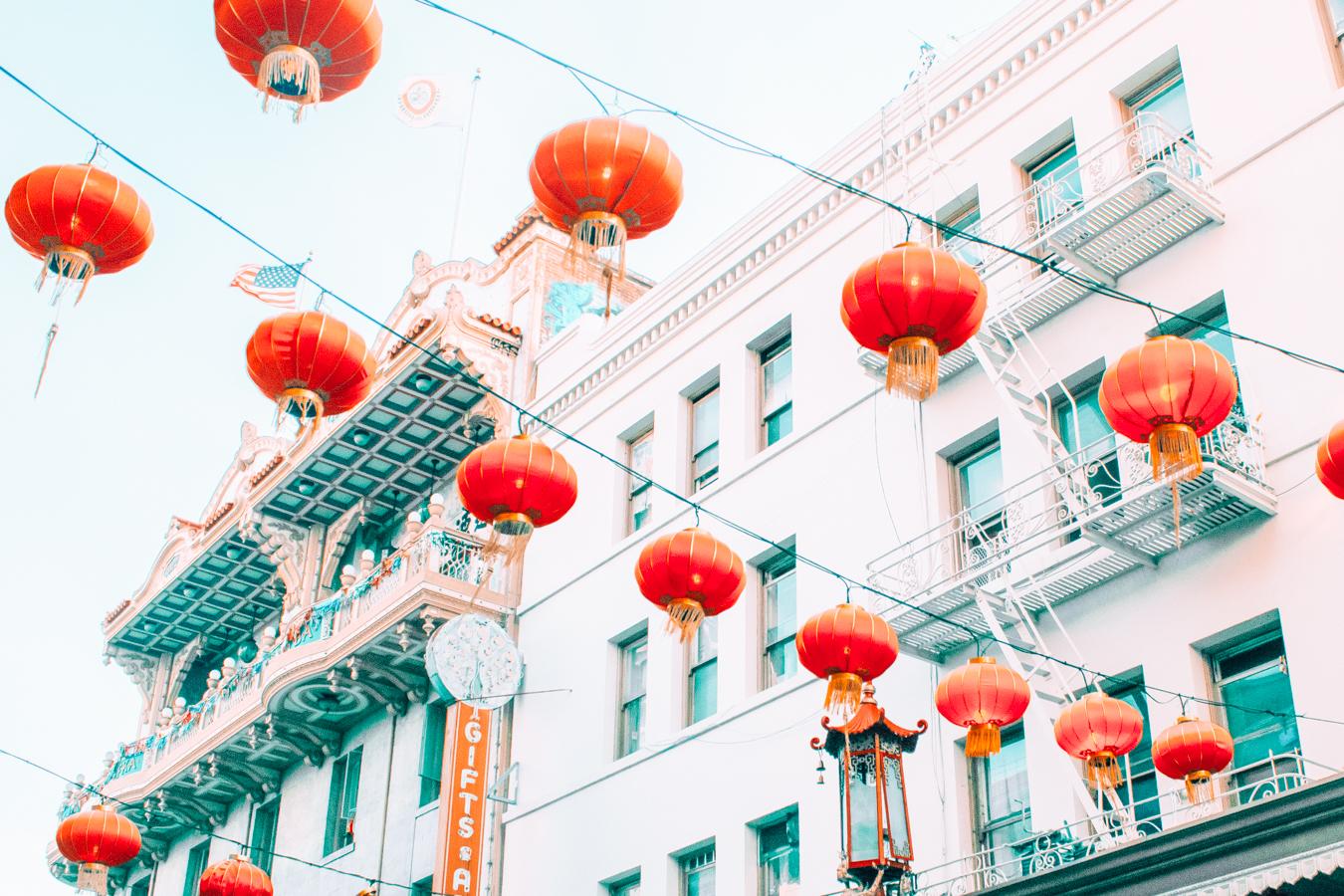 View of Chinatown
