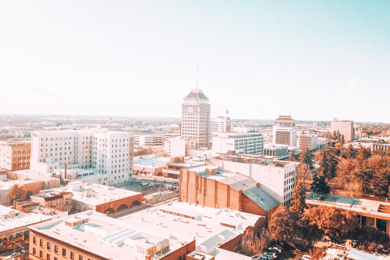 View of Fresno