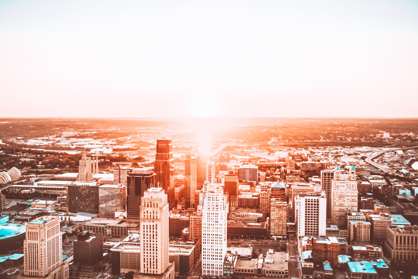 Kansas City from above