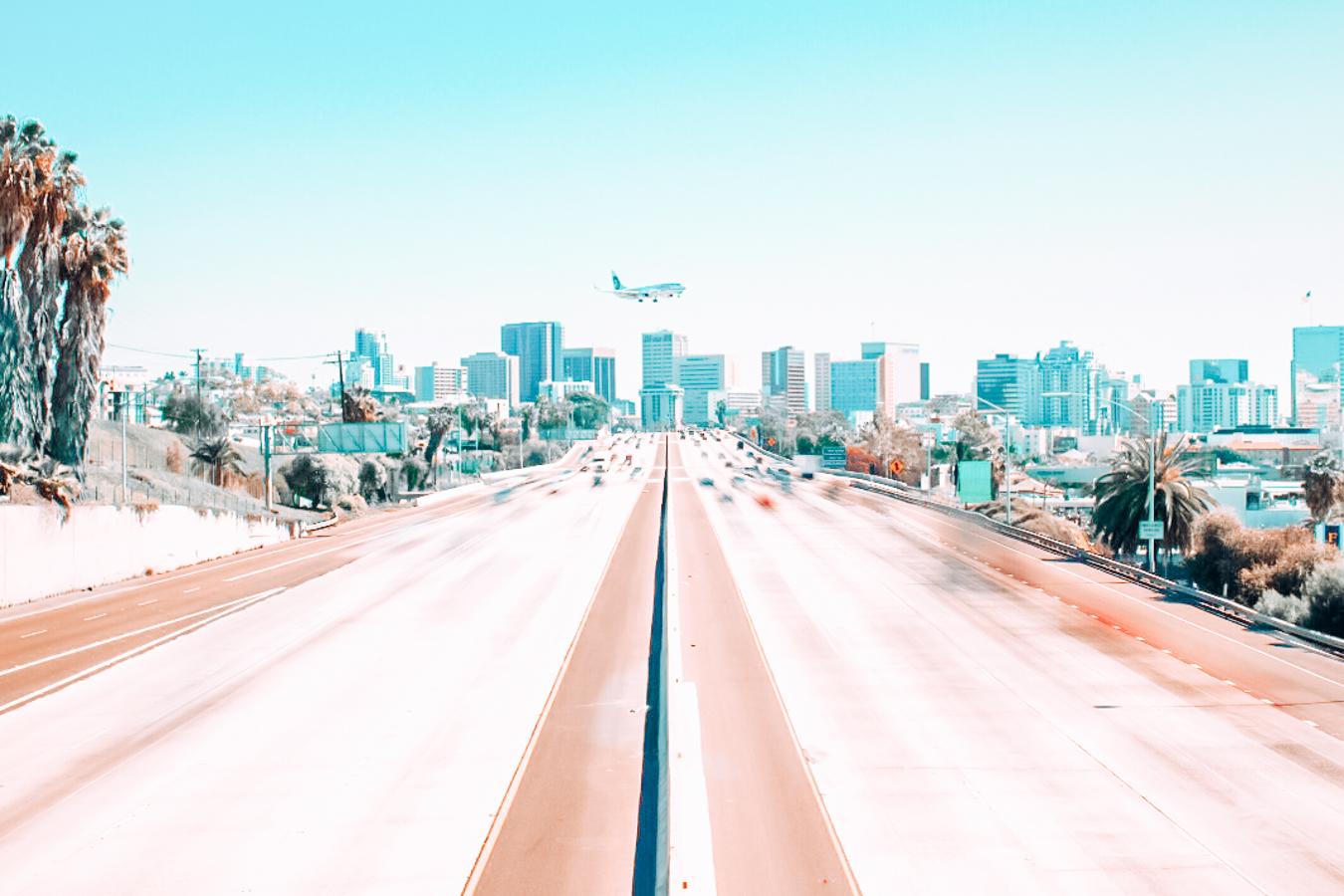 Road in San Diego