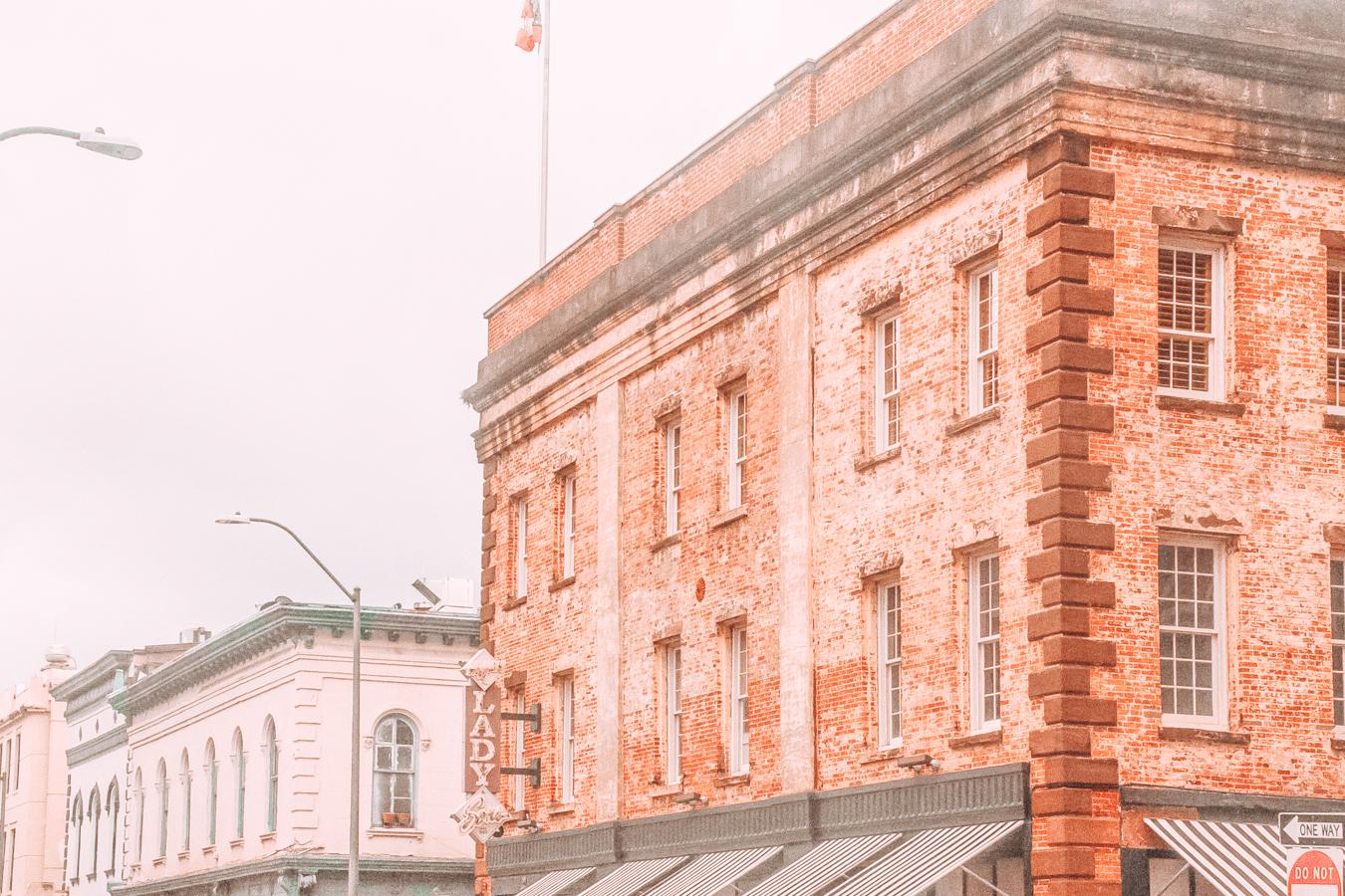 Historic buildings in Savannah