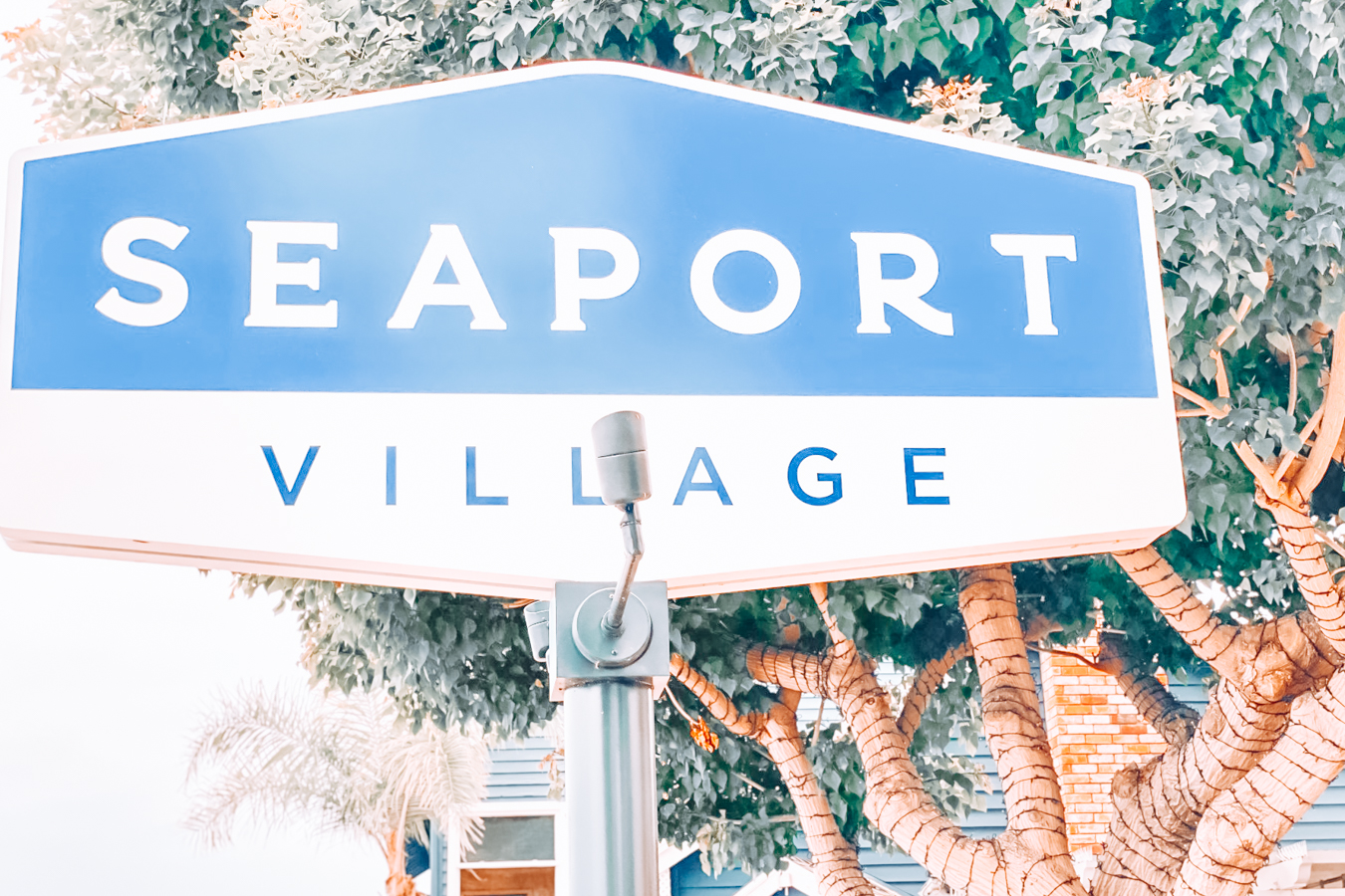 Sign of Seaport Village