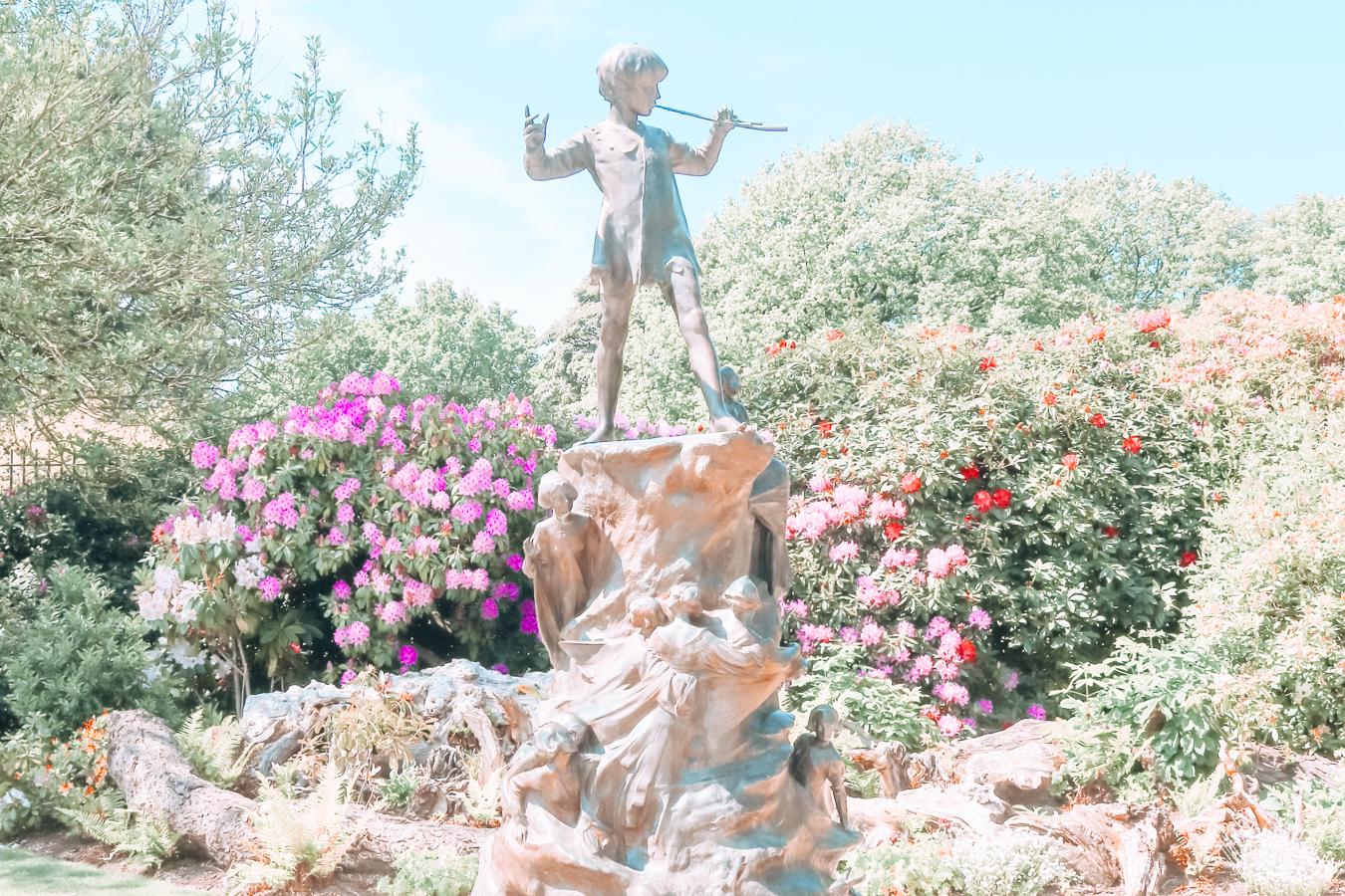 Statue at Sefton Park