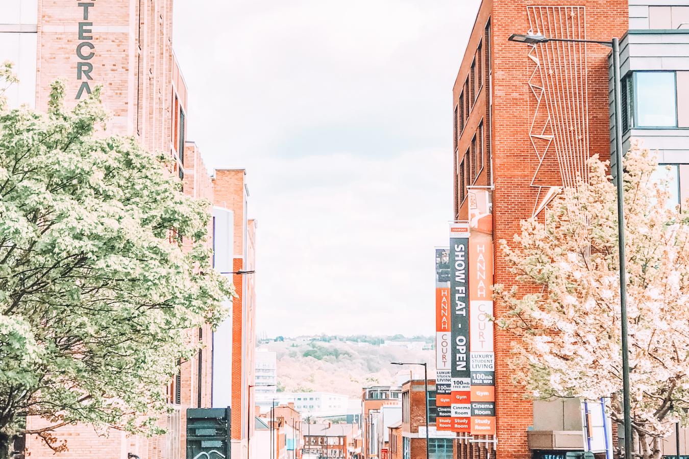 Buildings in Sheffield
