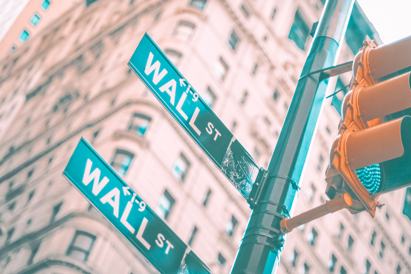 Sign of Wall Street