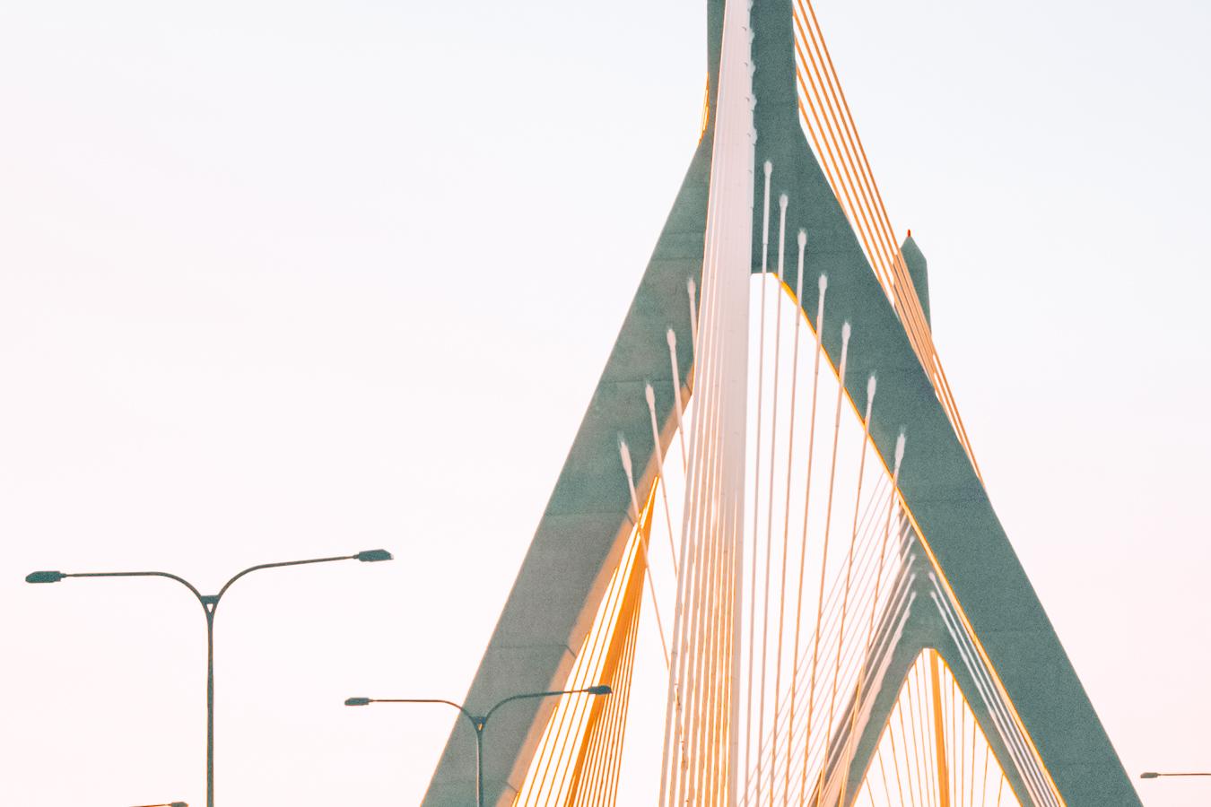 Zakim Bridge in Boston