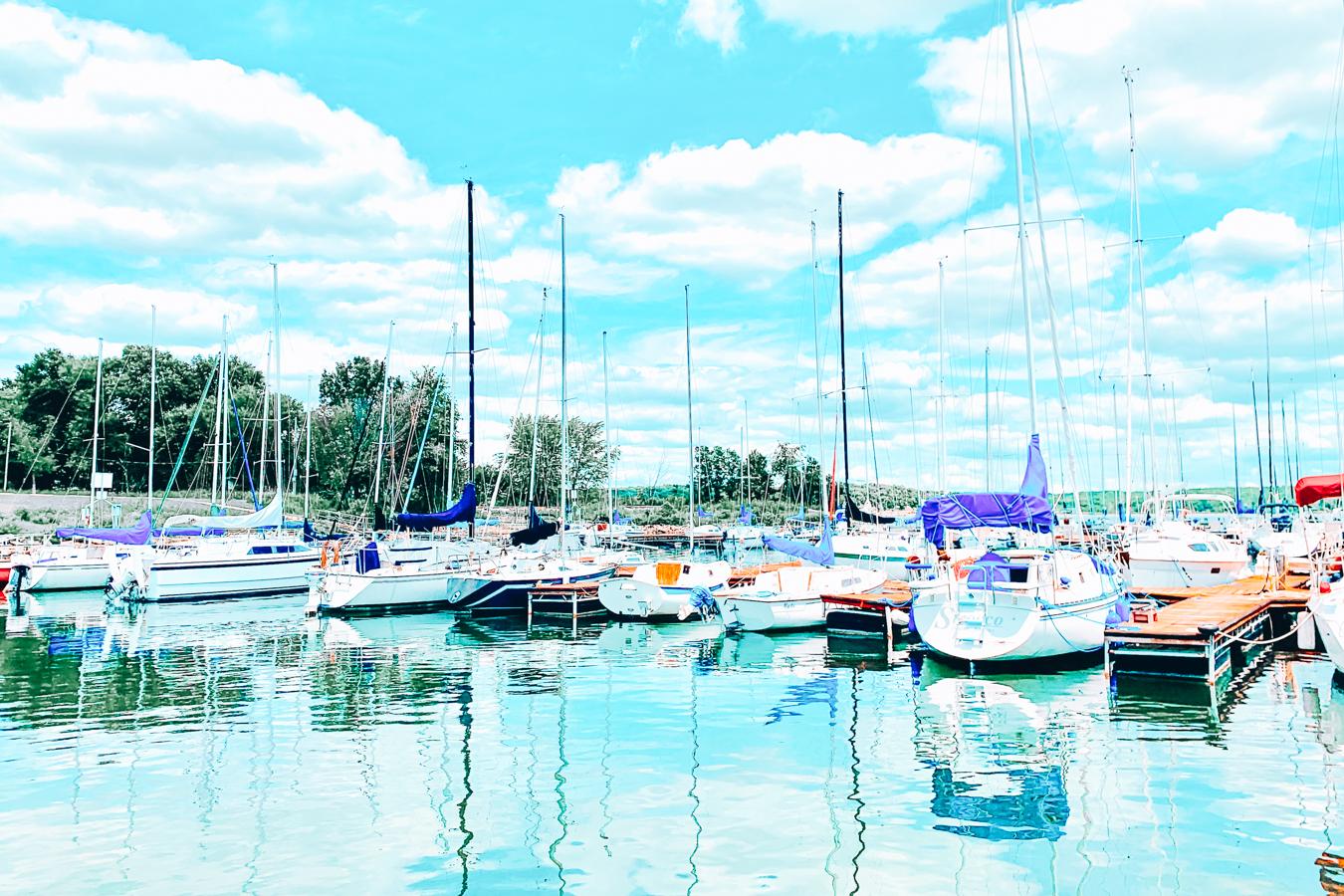 Boats in Stockton