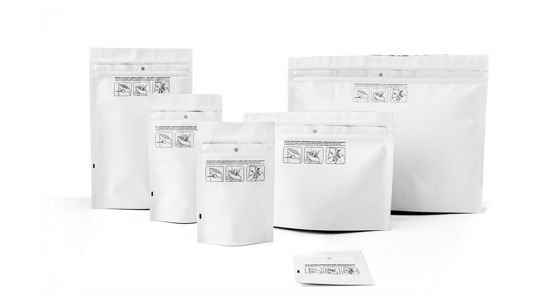 Child Resistant Bags: Lab Certified, Dispensary Approved