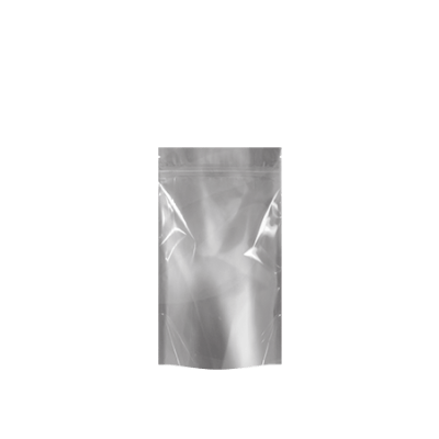 "4.00 x 7.12"" White/Clear Child Resistant Bags"