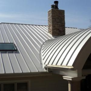 Curved Panel Metal Roofing