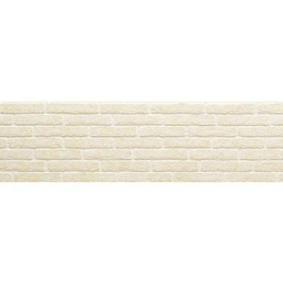 Фиброцементная панель NICHIHA Кирпич (Белый) EFX3253 (455х1010х16 мм)