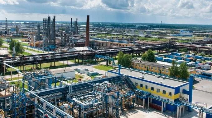 Naftan refinery