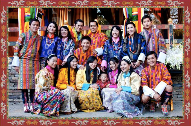 Bhutan's Royal Family (from the web)