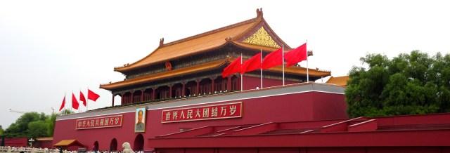 Mao's portrait in Square; DSC00243 © DY of jtdytravels