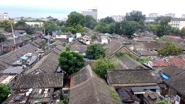 Roofs of the Hutong; DSC00290 ©  DY  of  jtdytravels